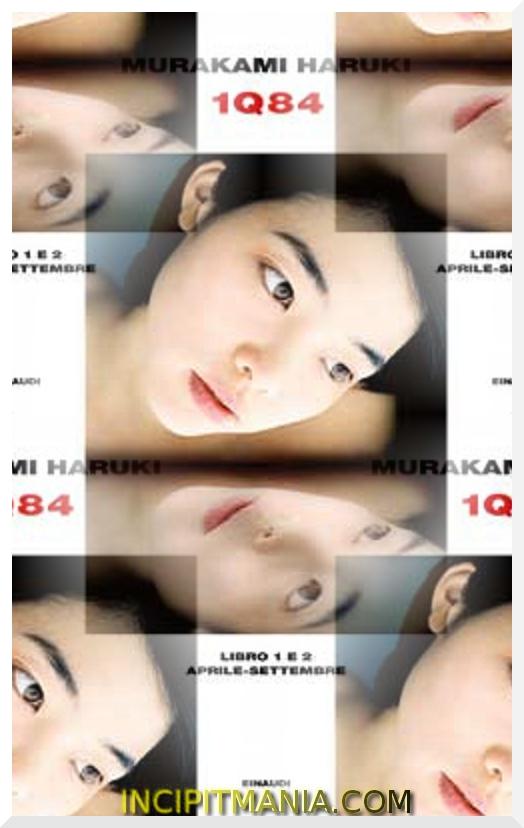 Copertina di 1Q84 di Haruki Murakami