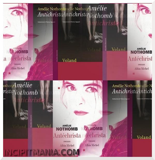 Copertine di Antichrista di Amélie Nothomb