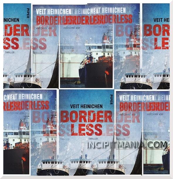 Copertine di Borderless di Veit Heinichen