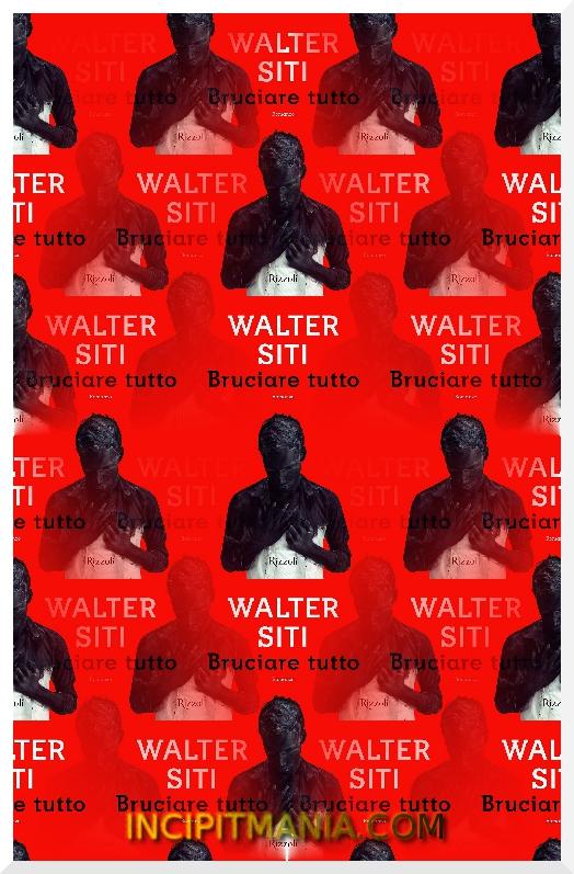 Copertina di Bruciare tutto di Walter Siti