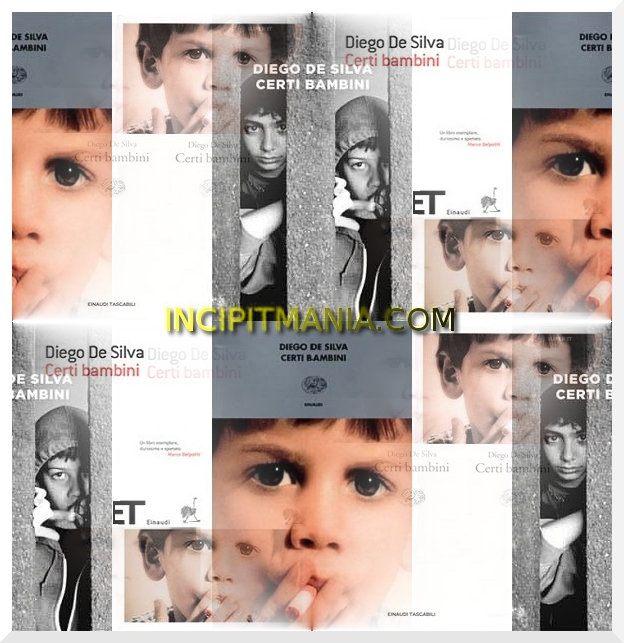 Copertine di Certi bambini di Diego De Silva