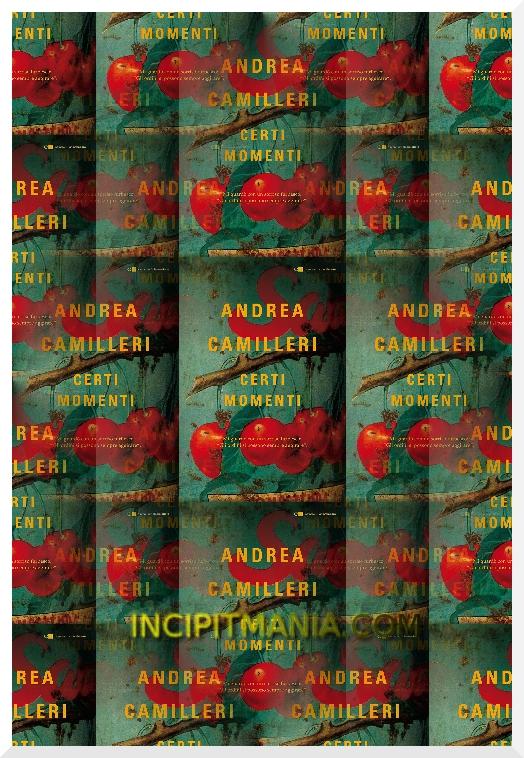 Copertina di Certi momenti di Andrea Camilleri