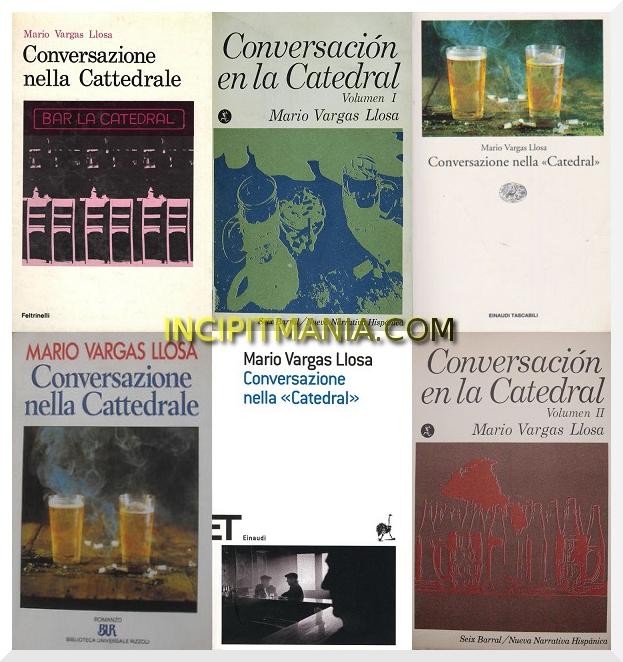 Copertine di Conversazione nella «Catedral» di Mario Vargas Llosa