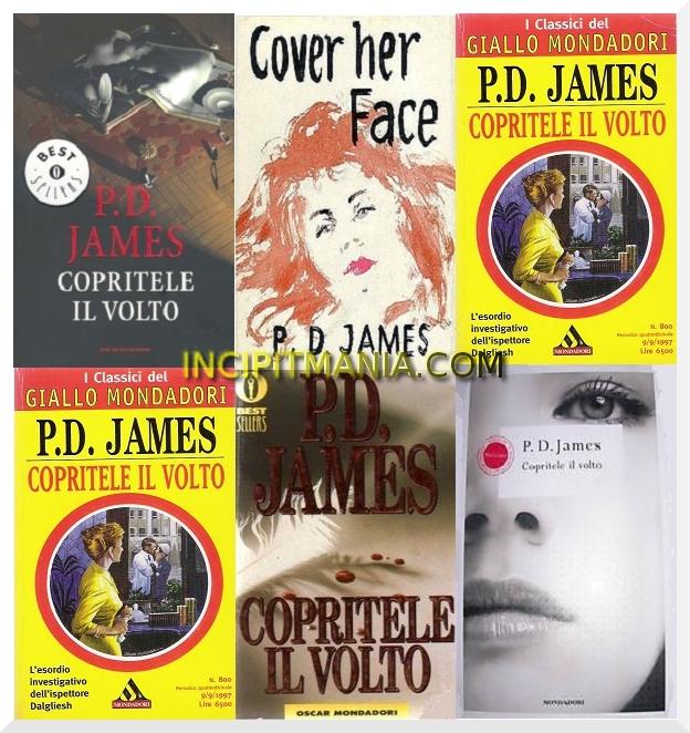 Copritele il volto di P.D. James