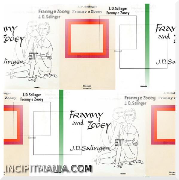 Copertine di Franny e Zooey di J.D. Salinger