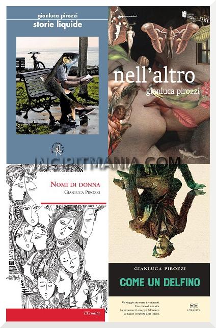 Copertine delle opere di Gianluca Pirozzi