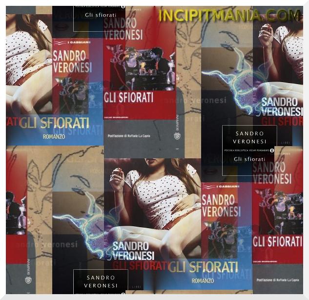 Copertina Gli sfiorati di Sandro Veronesi