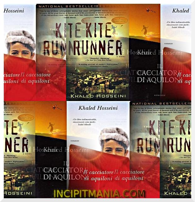 Copertine di Il cacciatore di aquiloni di Khaled Hosseini