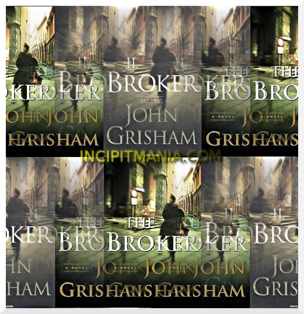 Il Broker di John Grisham