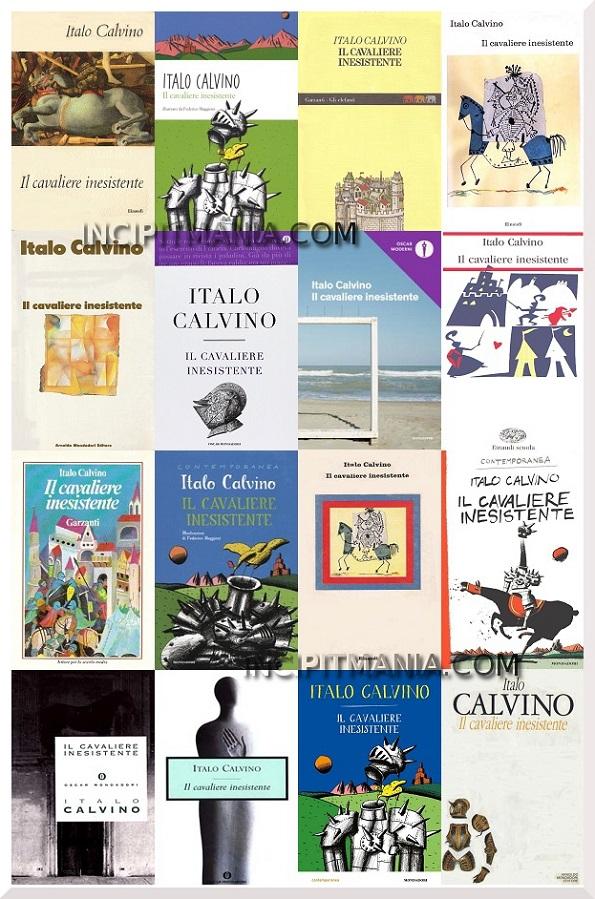 Copertine di Il cavaliere inesistente di Italo Calvino