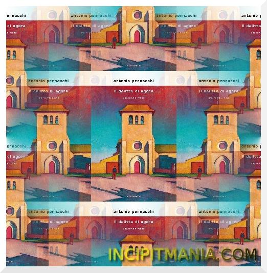 Copertina di Il delitto di Agora di Antonio Pennacchi