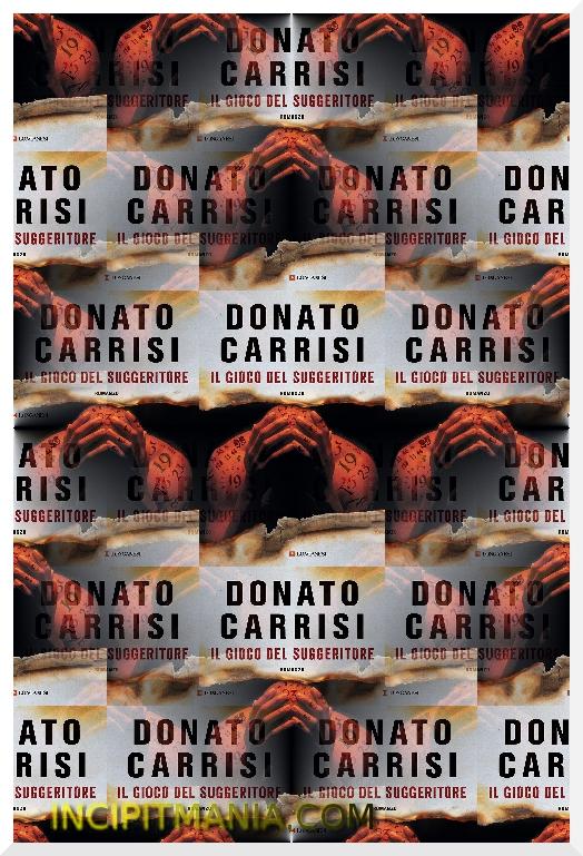 Copertina di Il gioco del suggeritore di Donato Carrisi