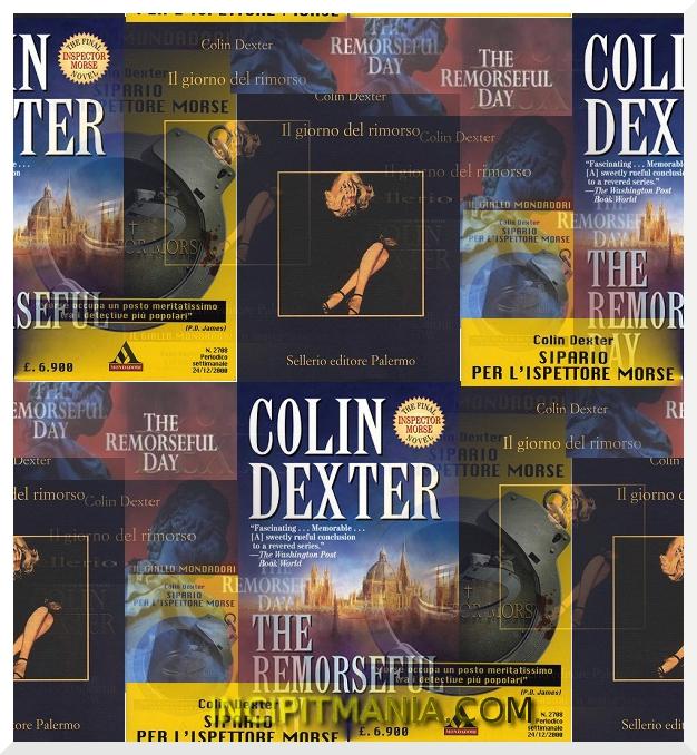 Copertine di Il giorno del rimorso di Colin Dexter