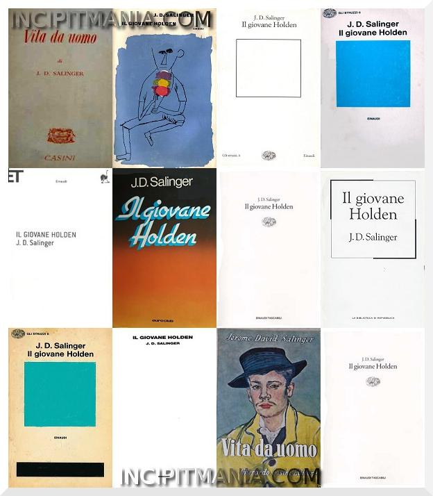 Copertine di Il giovane Holden di J. D. Salinger