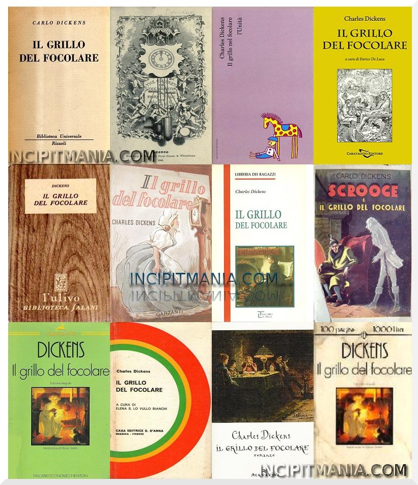 Copertine di Il grillo del focolare di Charles Dickens