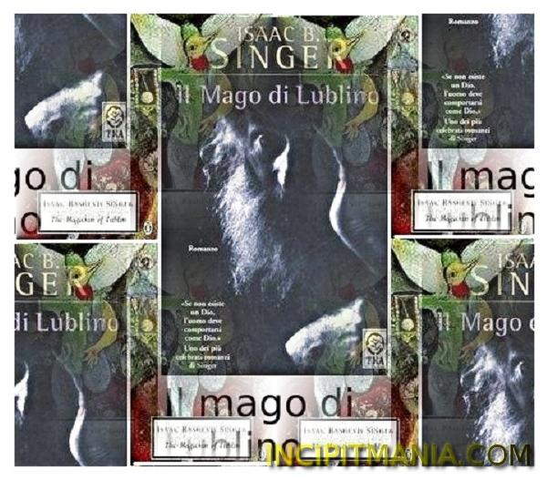 Copertine di Il mago di Lublino di Isaac Bashevis Singer