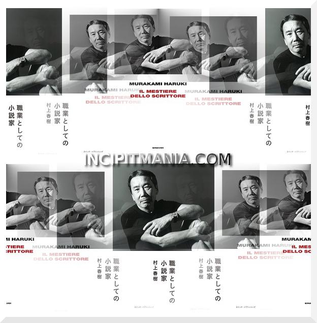 Copertine di Il mestiere dello scrittore di Haruki Murakami
