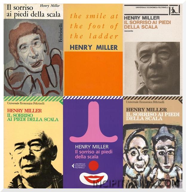 Copertine di Il sorriso ai piedi della scala di Henry Miller