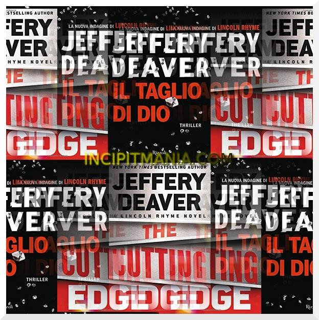 Copertine di Il taglio di Dio di Jeffery Deaver