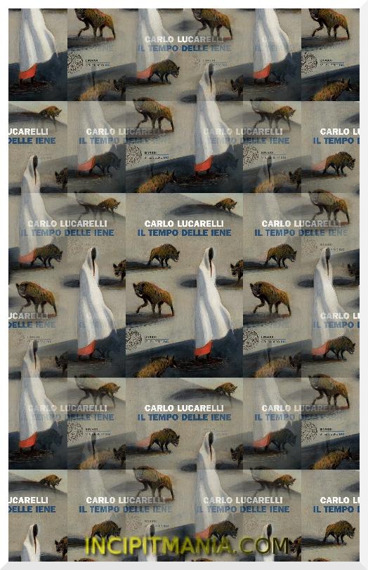 Copertina di Il tempo delle iene di Carlo Lucarelli