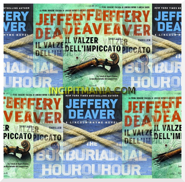 Copertine di Il valzer dell'impiccato di Jeffery Deaver