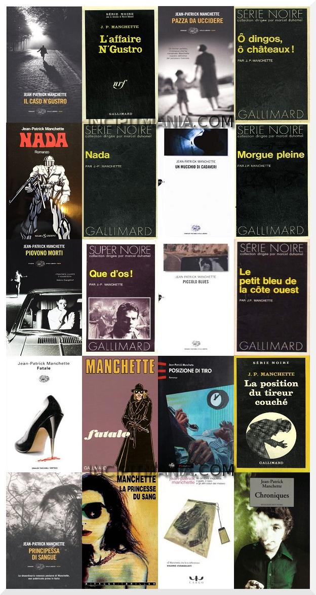 Copertine delle Opere di Jean-Patrick Manchette