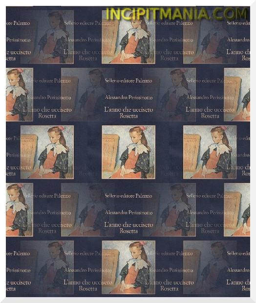 Copertina di L'anno che uccisero Rosetta di Alessandro Perissinotto