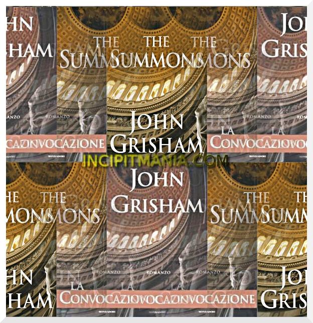 La convocazione di John Grisham