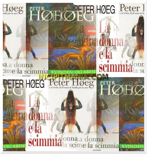 Copertine di La donna e la scimmia di Peter Hoeg