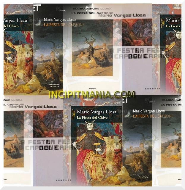 Copertine di La festa del caprone di Mario Vargas Llosa