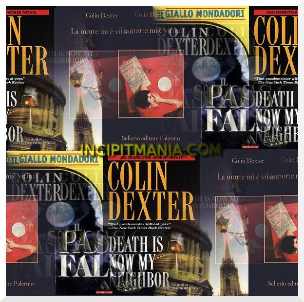 Copertine di La morte mi è vicina di Colin Dexter