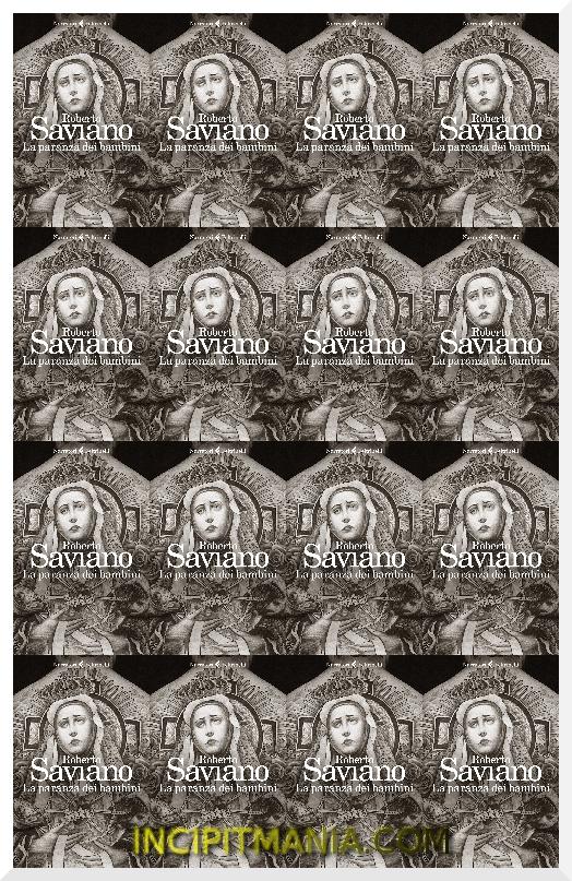 Copertina di La paranza dei bambini di Roberto Saviano