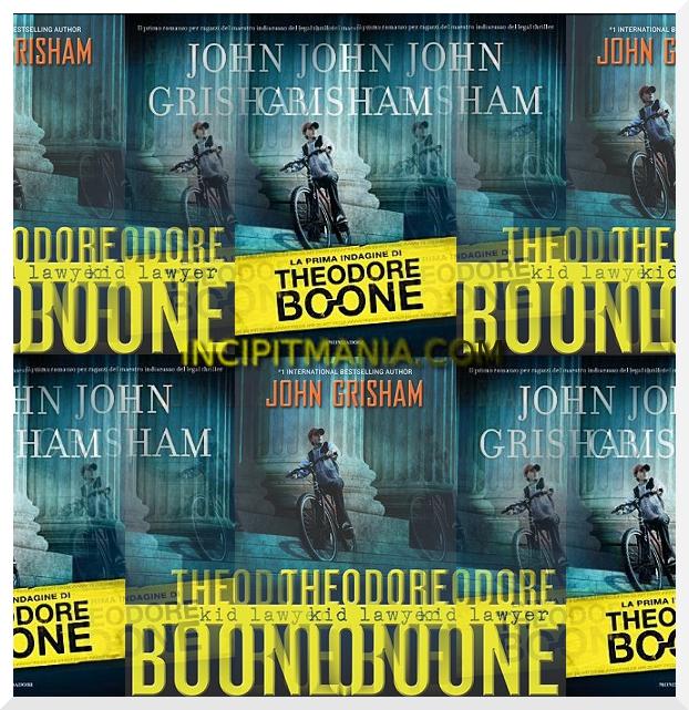 Copertine di La prima indagine di Theodore Boone di John Grisham