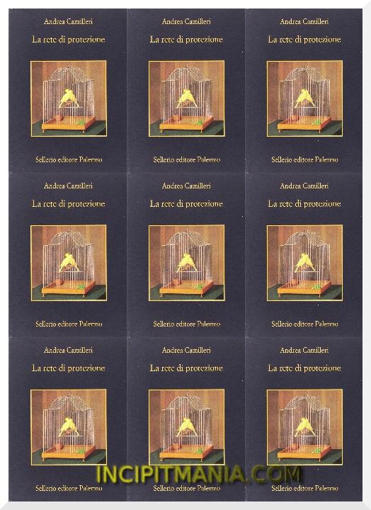 Copertina di La rete di protezione di Andrea Camilleri