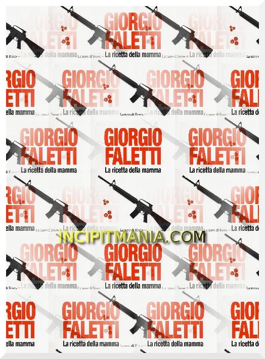 Copertina di La ricetta della mamma di Giorgio Faletti