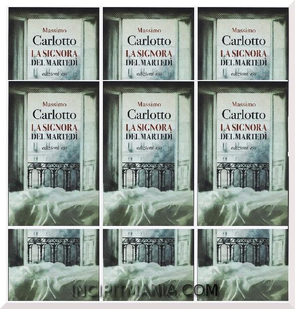 Copertine di La Signora del martedì di Massimo Carlotto