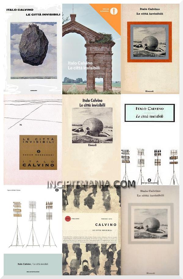 Copertine di Le città invisibili di Italo Calvino