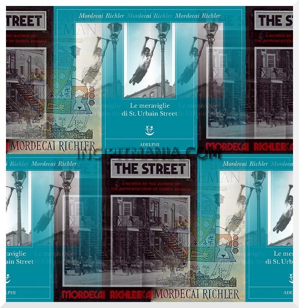 Copertine di Le meraviglie di St. Urbain Street di Mordecai Richler