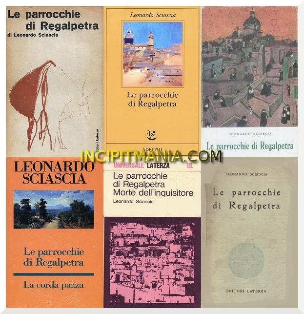 Copertine di Le parrocchie di Regalpetra di Leonardo Sciascia