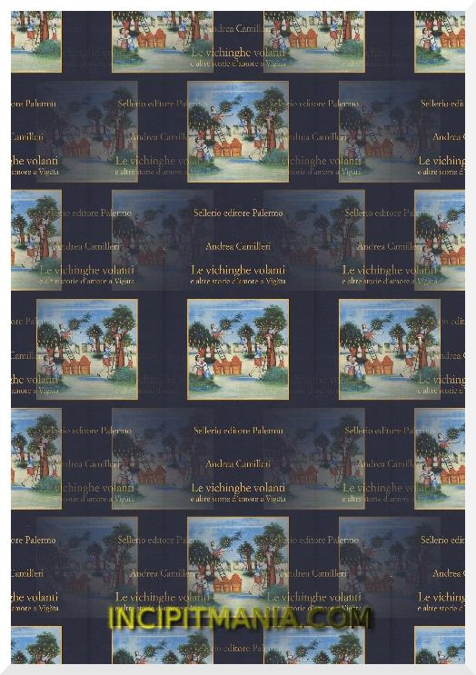 Copertina di Le vichinghe volanti di Andrea Camilleri