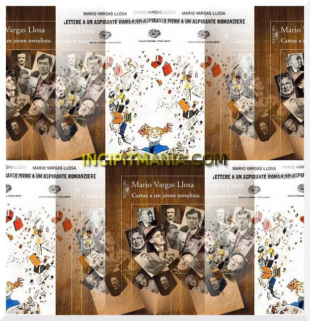 Copertine di Lettere a un aspirante romanziere di Mario Vargas Llosa