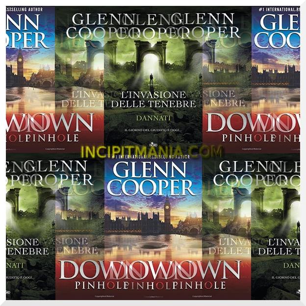 Copertine di L'invasione delle tenebre di Glenn Cooper