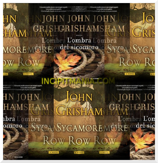 Copertine di L'ombra del sicomoro di John Grisham