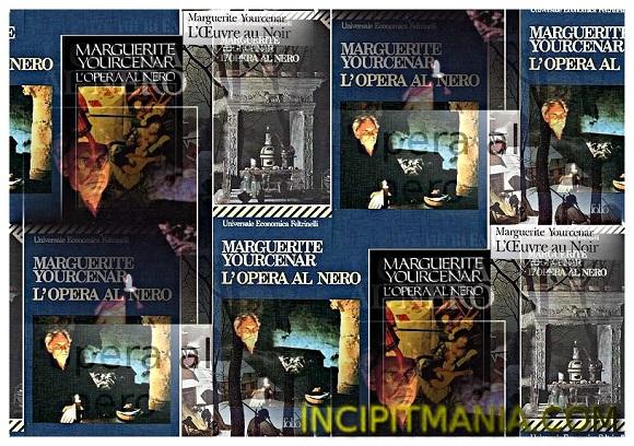 Copertine di L'opera al nero di Marguerite Yourcenar