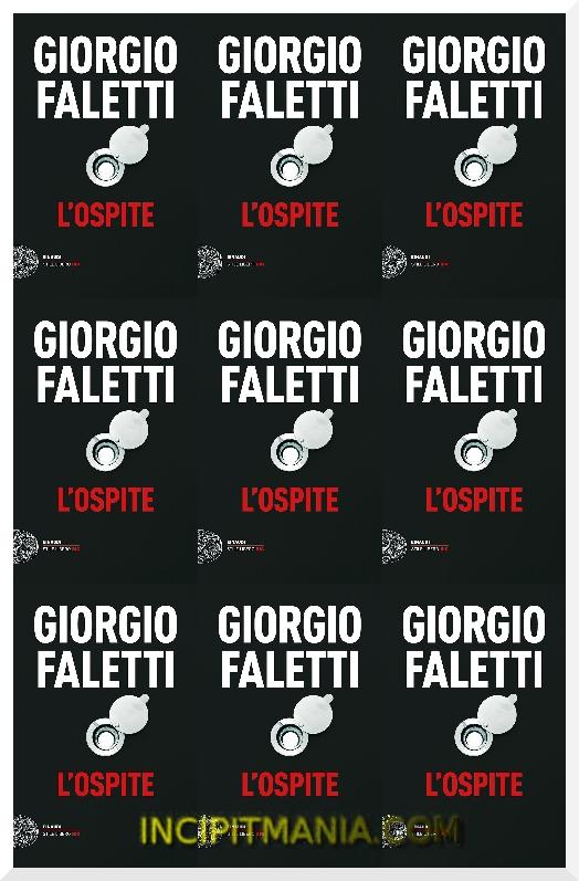 Copertina di L'ospite di Giorgio Faletti
