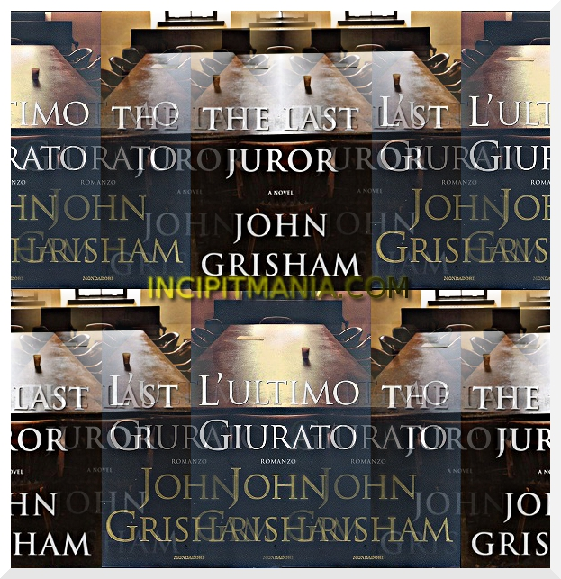 Copertine di L'ultimo giurato di Jonh Grisham