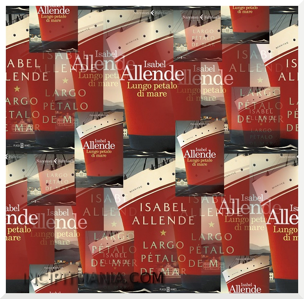 Copertine di Lungo petalo di mare di Isabel Allende