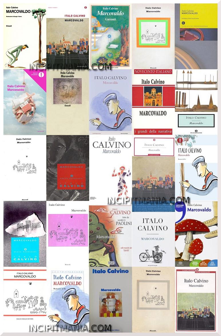 Copertine di Marcovaldo di Italo Calvino