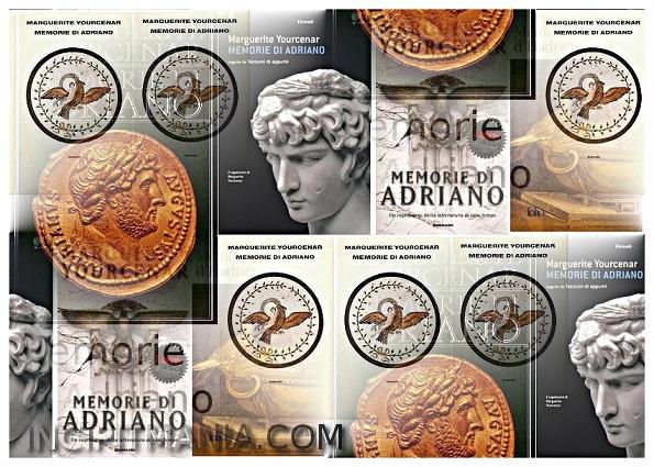 Copertine di Memorie di Adriano di Marguerite Yourcenar