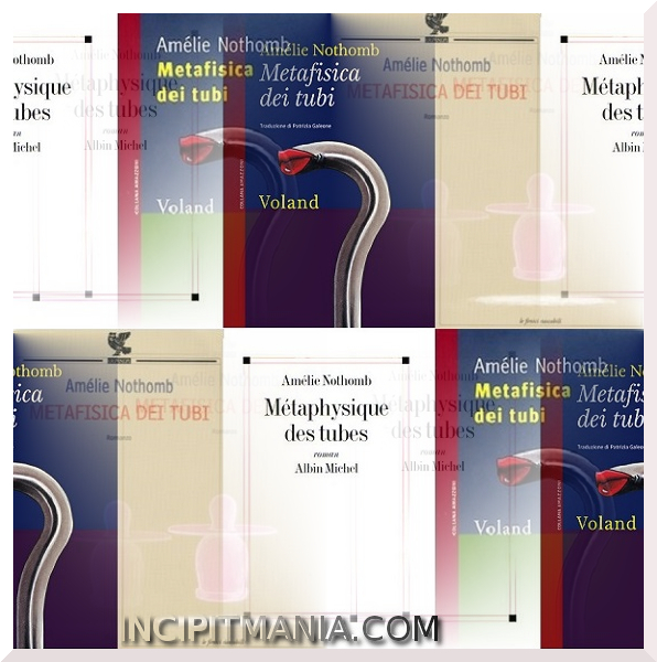 Copertine di Metafisica dei tubi di Amélie Nothomb